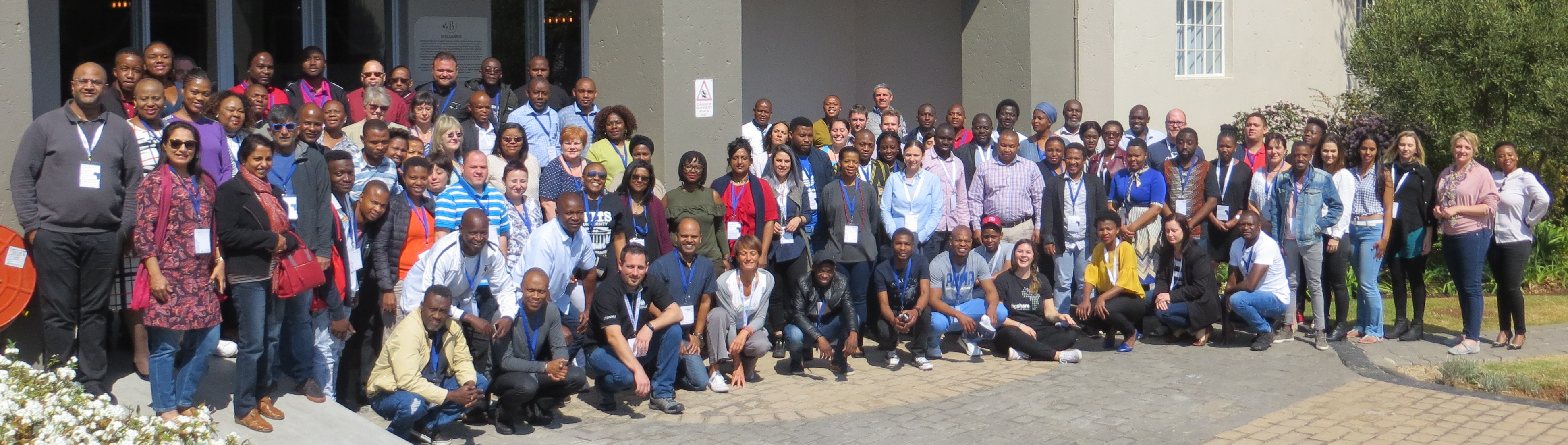 Participants and instructors of CarpentryConnect JHB 2018