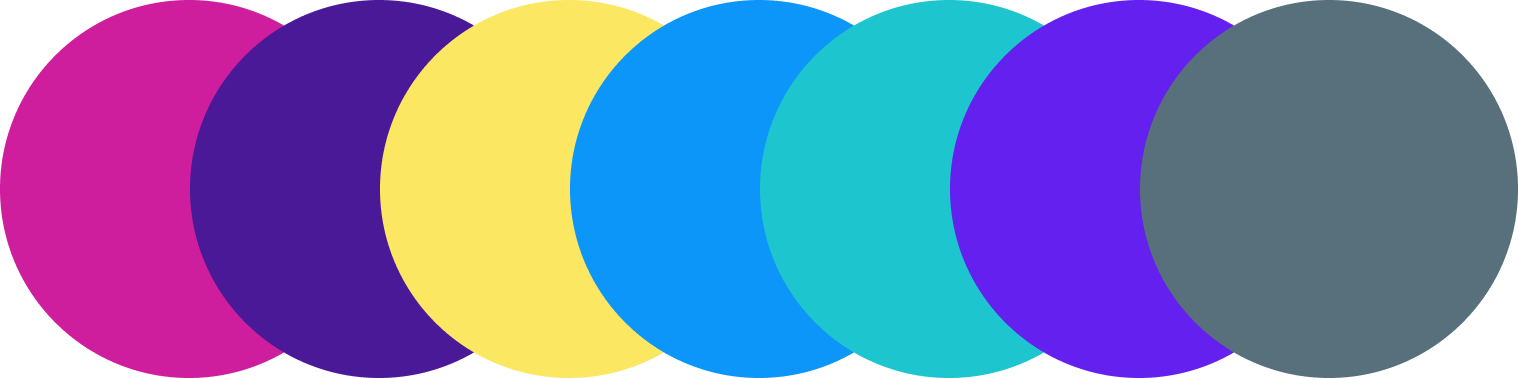 a sneak peek at the color scheme